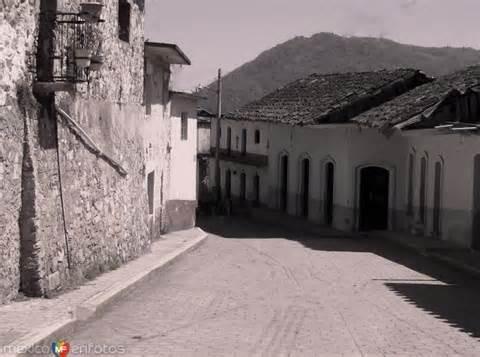 fotos antiguas xicotepec calle hacia el mercado de naupan puebla xicotepec de