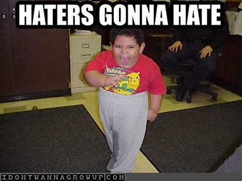 Funny Hater Memes - haters gonna hate funny baby pictures cute baby