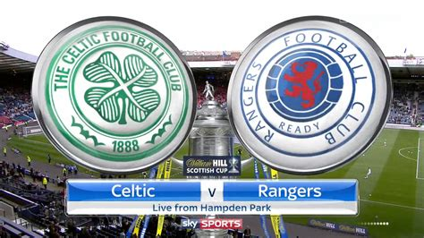 epl full match replay scottish fa cup semi final celtic vs rangers full match