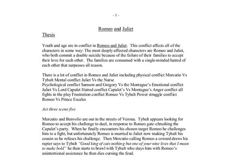 Themes In Romeo And Juliet Essay by Romeo And Juliet Introduction Paragraph