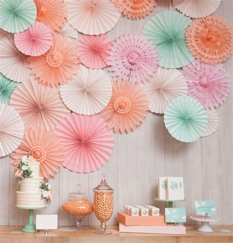 how to paper fan decorations 2016 5pcs lot 8 inch 20cm tissue paper fan decoration