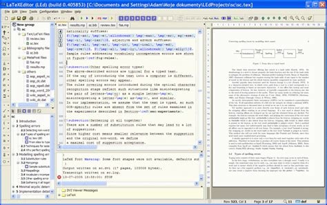 best latex editor led latex editor 0 51 build 6200 beta free download