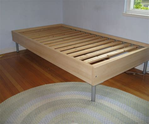 ikea wood glancing ikea twin size bed frame made in black color