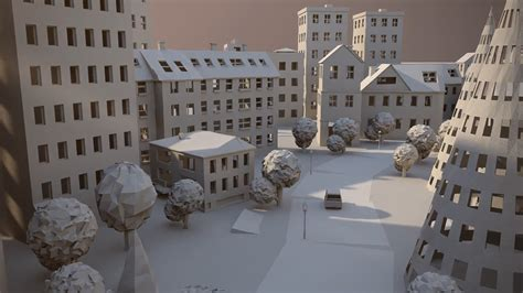 How To Make A City With Paper - paper city3 fubiz media