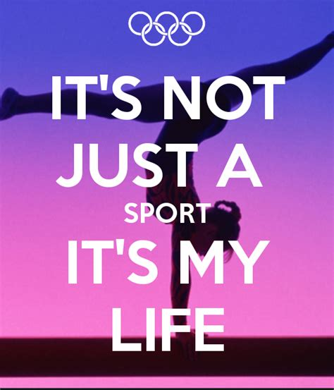 Sport Is My it s not just a sport it s my poster awesomeness