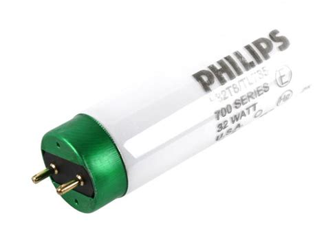 Lu Philips 32 Watt philips 32w 48in t8 neutral white fluorescent f32t8