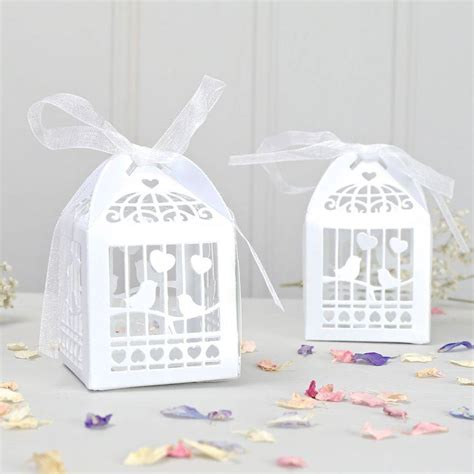 Wedding Favour Boxes by Bird Cage Favour Boxes Bought With Thought