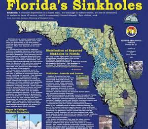sinkhole activity map florida sinkhole activity in florida