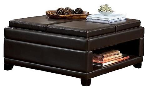Ottoman With Built In Tray The World S Catalog Of Ideas