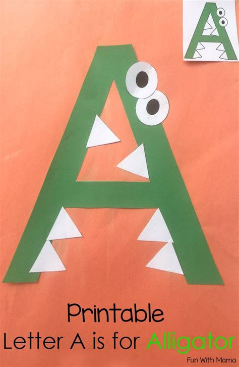Printable Letter A Crafts and Activities A