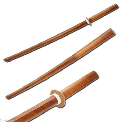 katana wooden 31 quot wooden samurai sword bokken wood kendo practice katana