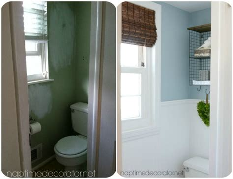 powder room wall decor ideas budget powder room makeover hometalk