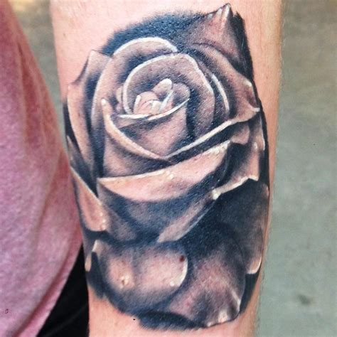 black and grey roses tattoos black and gray flower by kyle grover tattoonow