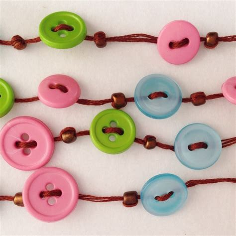 bead and button and buttons necklace 183 how to make a button necklace