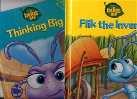 Flik The Inventor Vol 3 Hardcover lot of 2 bug s flik the inventor thinking big hc
