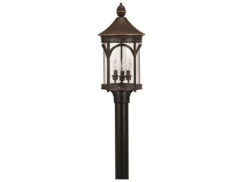 Hinkley Outdoor Lights Hinkley Lighting Lucerne Copper Bronze Led Outdoor Post Light 2317cb Led