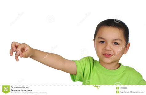 Kid On by Kid Holding Nothing Stock Photo Image Of Present Child