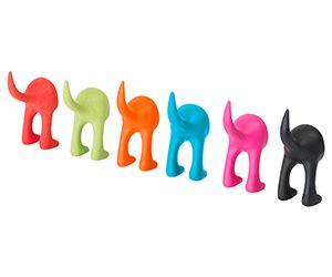 ikea dog colorful ikea dog tail hangers 6 piece set