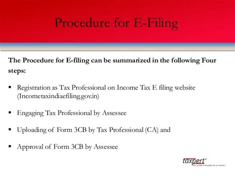 section 271b taxpert professionals presentation on tax audit