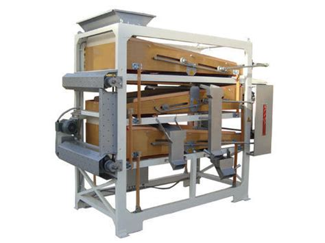 Seed Grading Machine Double Decker Seed Grader