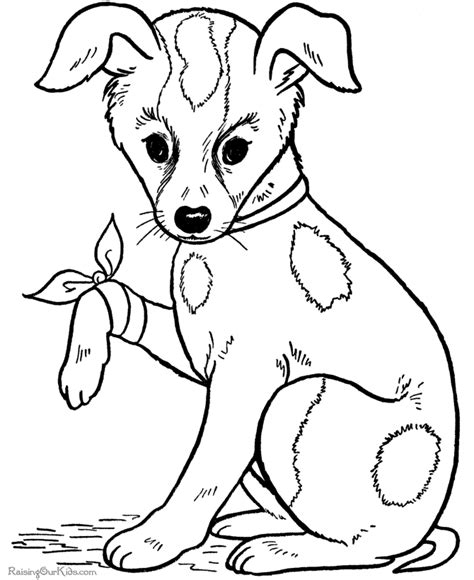 Big Puppy Coloring Pages Free Big Coloring Pages