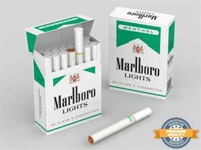 max marlboro menthol cigarette box