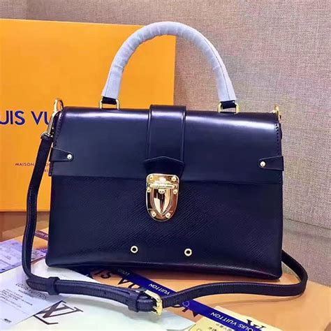 Lv One Handle Flap Bag Epi Leather 43125 louis vuitton epi leather one handle flap bag mm indigo m43125