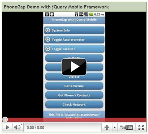 jquery mobile demo 10 exle jquery mobile demo websites sitepoint