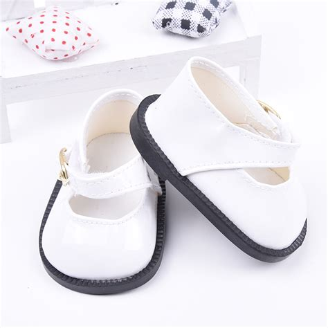 for dolls fashion white square doll shoes baby