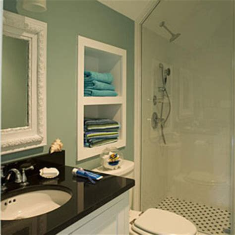 bathroom alcove ideas children s bathroom decorating ideas create an alcove for storage children s bathroom design