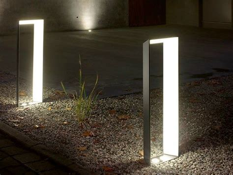 Modern Landscape Lighting Aluminium Bollard Light Lighting L Lighting Gardens Design And