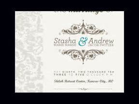 wedding invitations designs cloveranddot