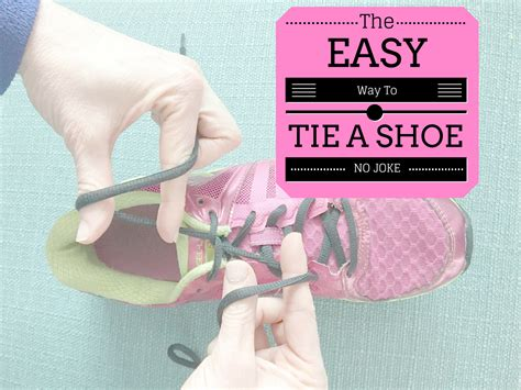 how to tie shoes ponder