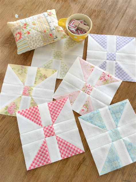 Patchwork Shops - carried away quilting february panes blocks