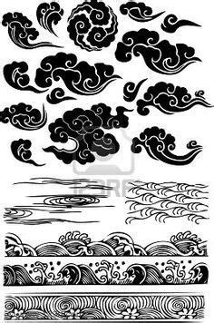 tribal cloud tattoo japanese clouds חיפוש ב pinteres