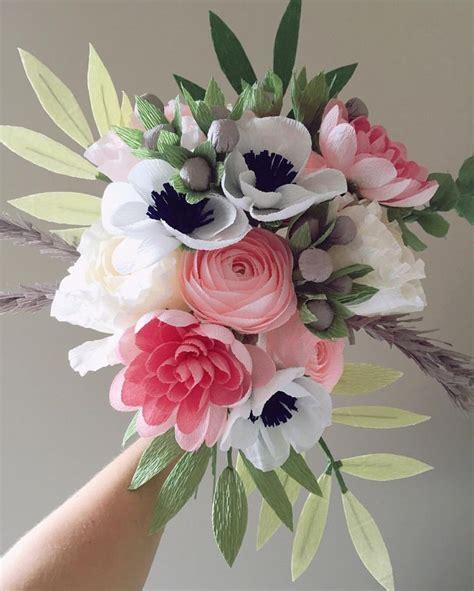 Flower Bouquet With Paper - 25 unique origami bouquet ideas on paper