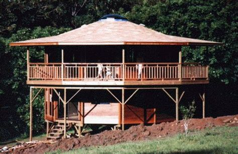 Octagon Shaped House Plans by Multi Facetted Homes Hawaii Cabin Kits Pinterest