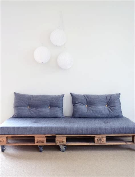 diy pallet sofa 10 beautiful diy sofa designs newnist