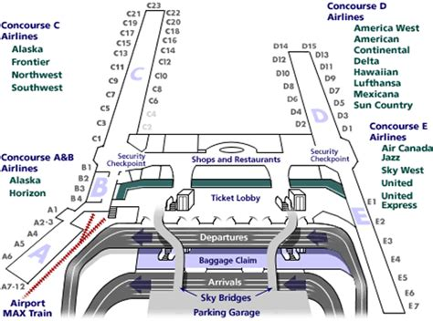 portland airport map portland airfares oregon pdx
