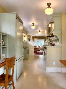 lighting ideas for kitchens galley kitchen lighting ideas pictures ideas from hgtv