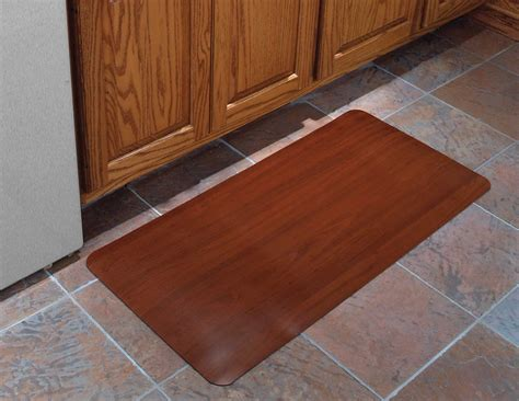 Cushioned Kitchen Floor Mats by 24x36 Inch Cushioned Floor Mat Wood Grain In Kitchen Mats