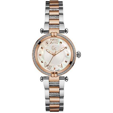 montre gc y18002l1 montre bicolore acier femme sur bijourama montre femme pas cher en ligne