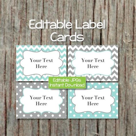 printable name tags for baby shower name tags editable labels cards jpg file printable baby