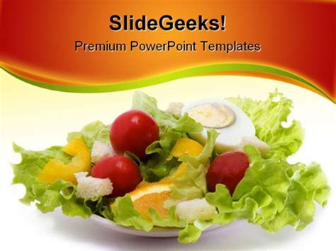 healthy food powerpoint template healthy powerpoint on healthy