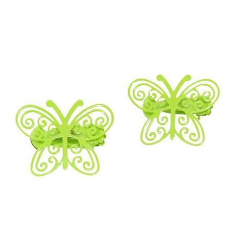 Pince Rideau Papillon by Lot De 2 Pinces Papillon Anis Accessoire Et Tringle