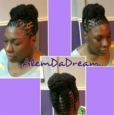 black updo hairstyles atlanta 17 best images about locs on pinterest black women