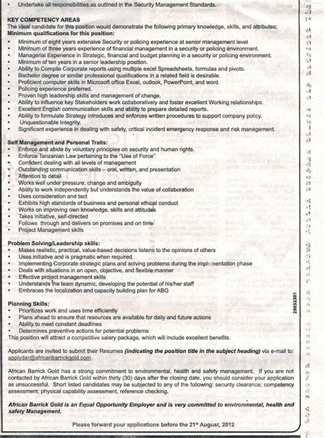 regional security operations manager tayoa employment portal