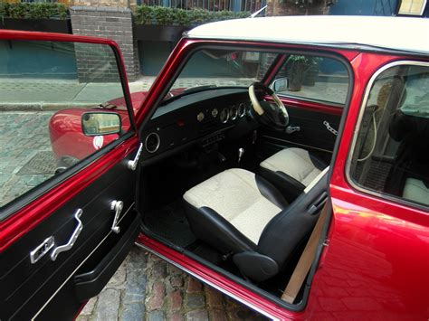 classic red classic mini cooper hire london tv wedding film tours