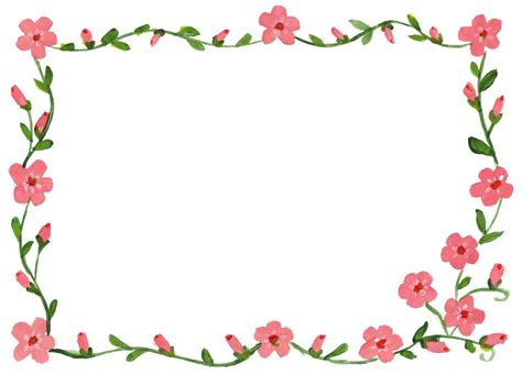 Floral Flowers by 9 Floral Flower Frame Jpg Onlygfx