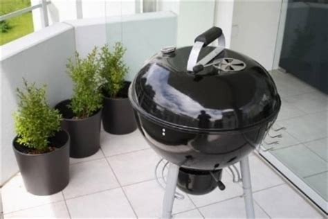 barbecue per terrazzo il barbecue da balcone barbecue